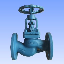 Cast gray iron and ductile iron globe valves