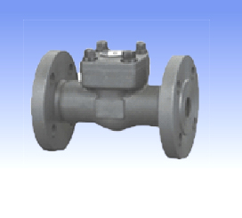 Forged steel and SS swing check valves with flanged