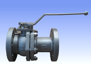 Carbon steel and SS flanged ball valves with metal seat type